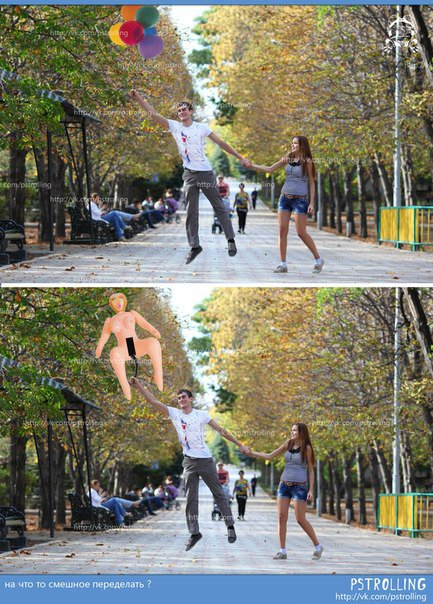 Идиотские фотожабы