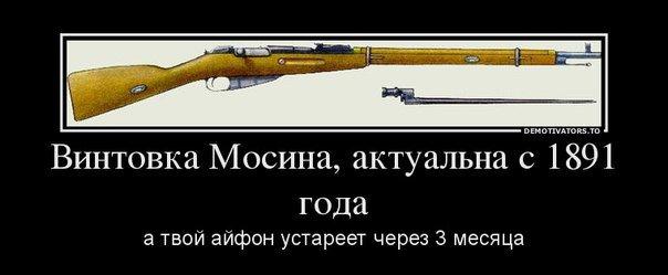 Винтовка Мосина - прикольные демотиваторы
