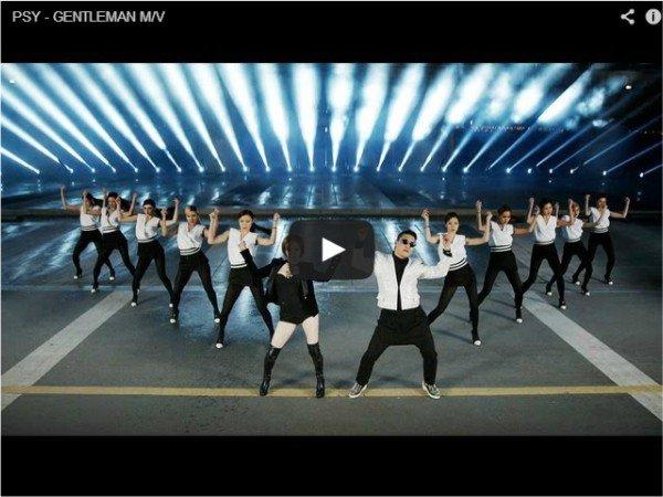 Новый клип PSY - Gentleman - прикольное видео
