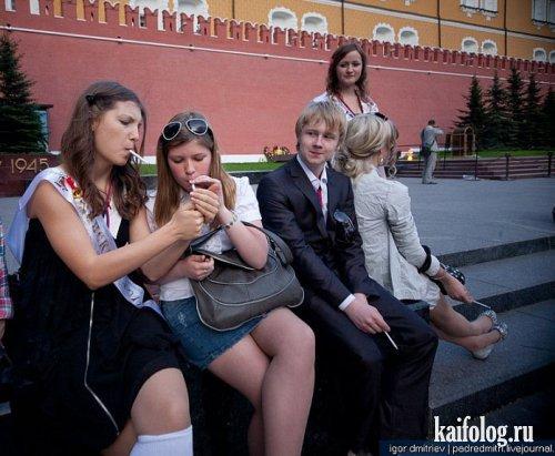 Прикольное фото выпускников школ