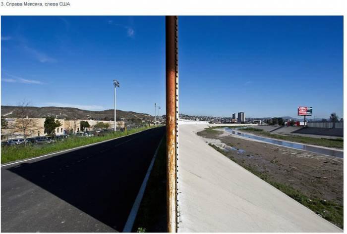 На границе тучи ходят хмуро... Между Мексикой и США