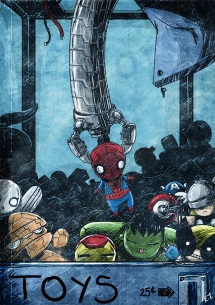 Бомбануло - комиксы про супергероев