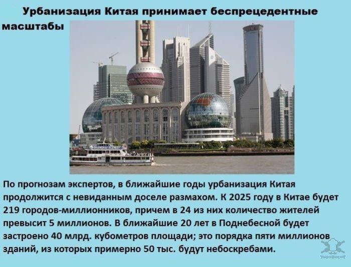 Интересные факты про Китай