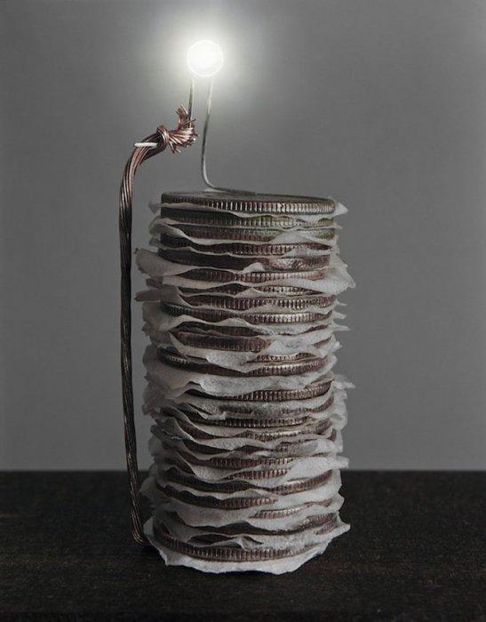 Как вырабатывают электричество из продуктов
