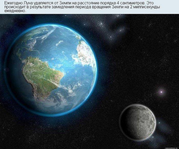 Прикольные факты про космос