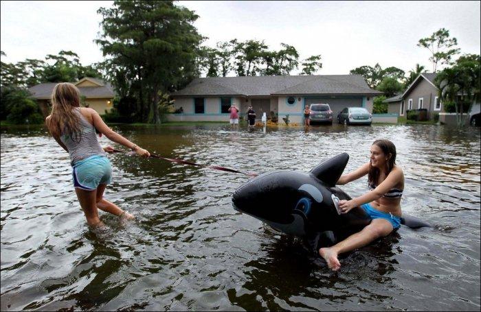 Веселые наводнения - подборка фотографий со всего мира