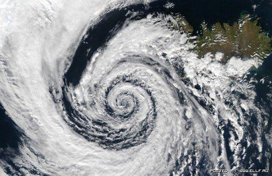 Фото ураганов из космоса