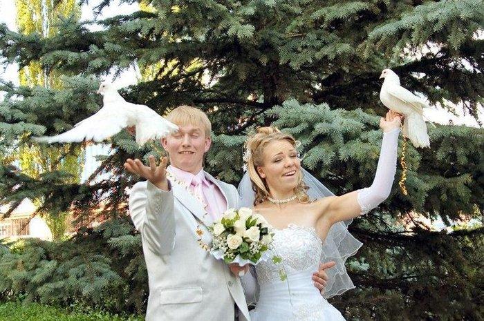 Неудачные фото со свадеб