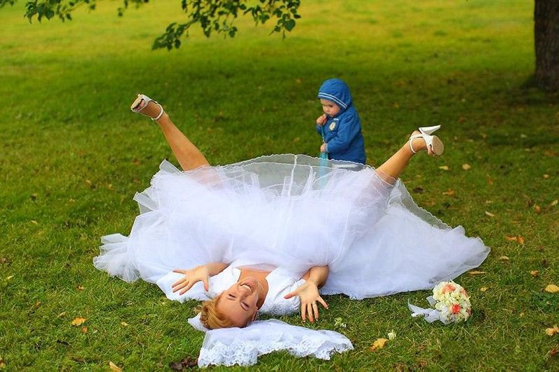 Прикольные штучки на свадьбу