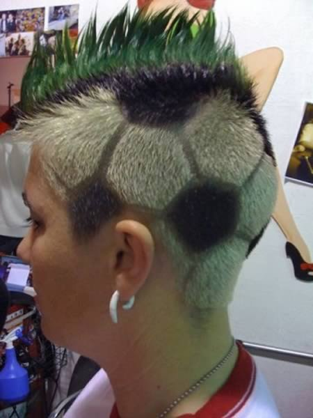 Прикольные татуировки из волос
