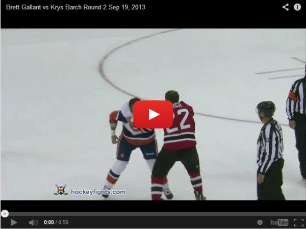 Brett Gallant VS Krys Barch  - ��������� �����