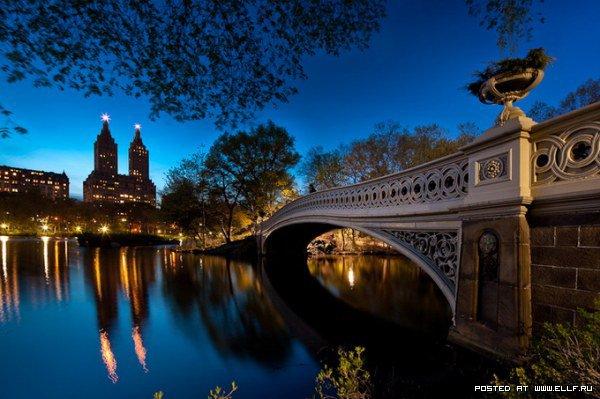 Фотографии ночного Нью-Йорка