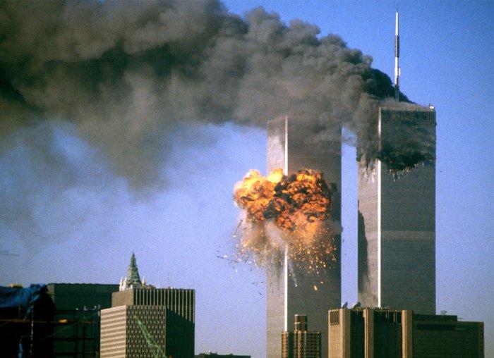 11 сентября - ад в Нью-Йорке