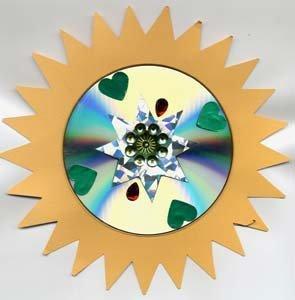 Прикольные поделки из дисков