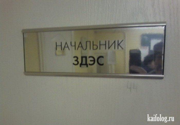 Прикольные таблички на дверях