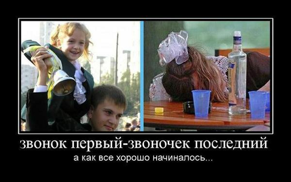 Сборник демотиваторов про школоту