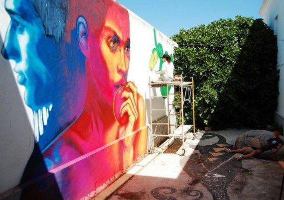 Стрит-арт польской художницы Натальи Рак