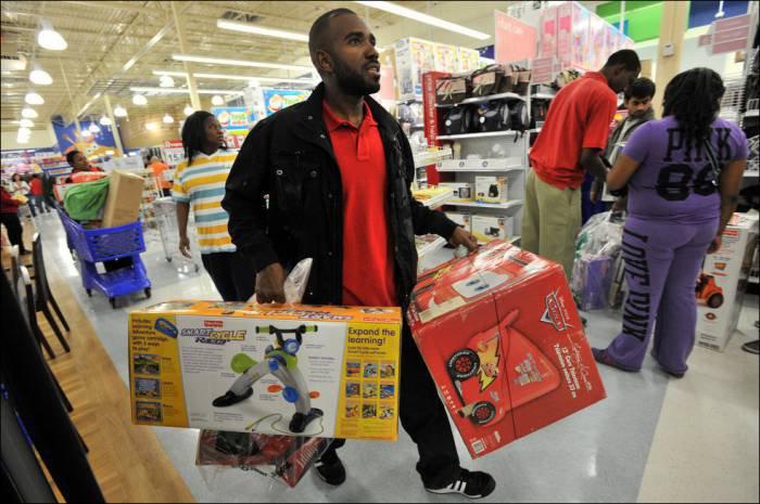 Прикольные фото с рождественской распродажи