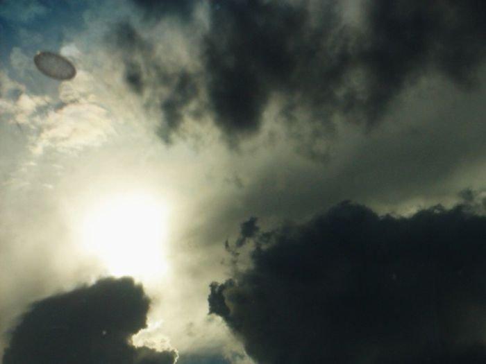 Фотографии НЛО - космические создания