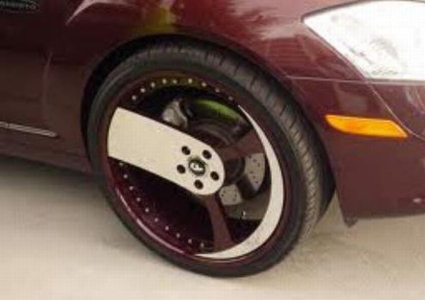 Прикольные автомобильные диски