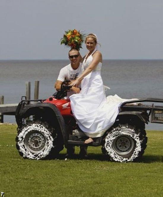 Убойные свадебные фотографии