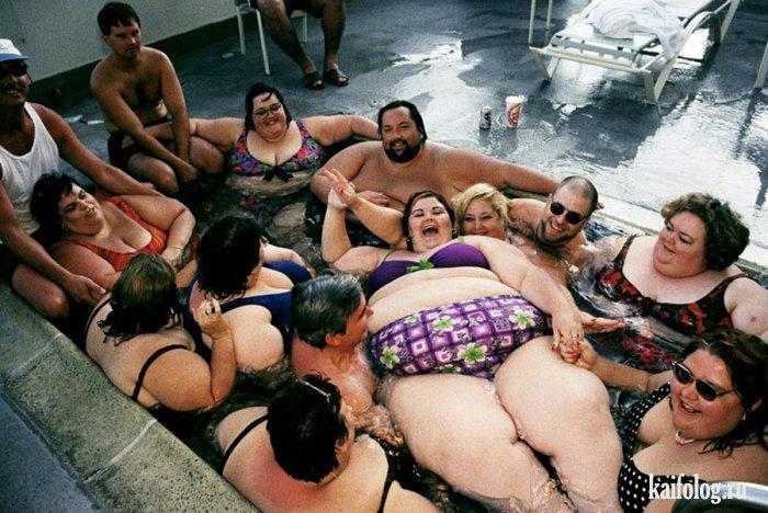 Фотографии толстых людей - прикольные картинки