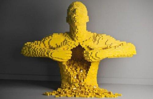 Прикольные конструкции из конструктора Lego