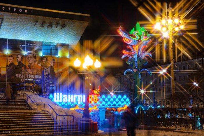 Фотографии города Москвы - ночная столица
