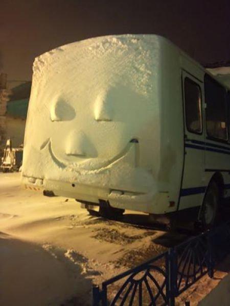Зимние позитивные картинки