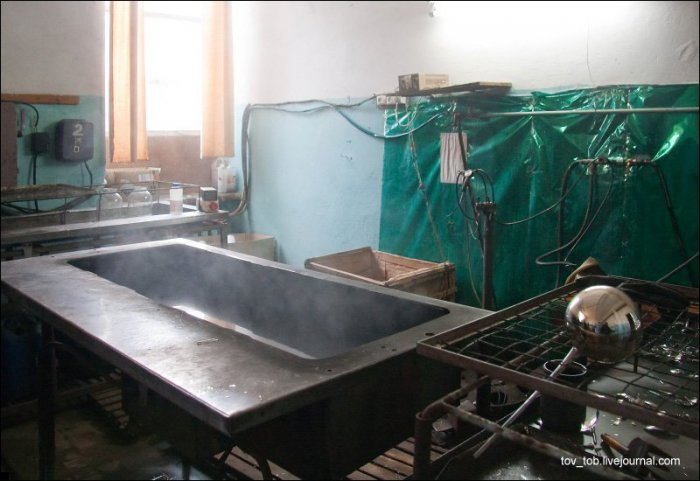 Завод по производству новогодних игрушек