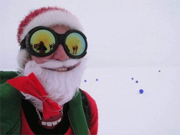Новогодние приколы - смешные картинки про Новый год