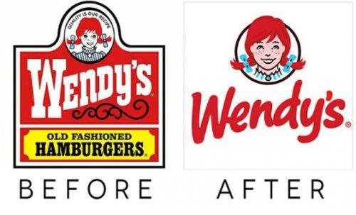 Старые и новые логотипы известных компаний