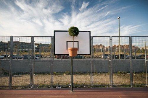 Street art - декорации на улице