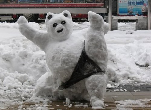 Самые прикольные снеговики