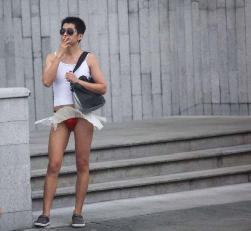 Жертвы собственной моды - прикольные фотки