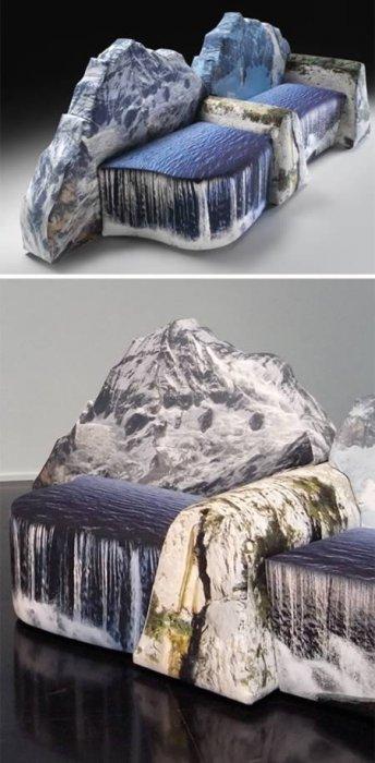 Оригинальные диваны - подборка фото