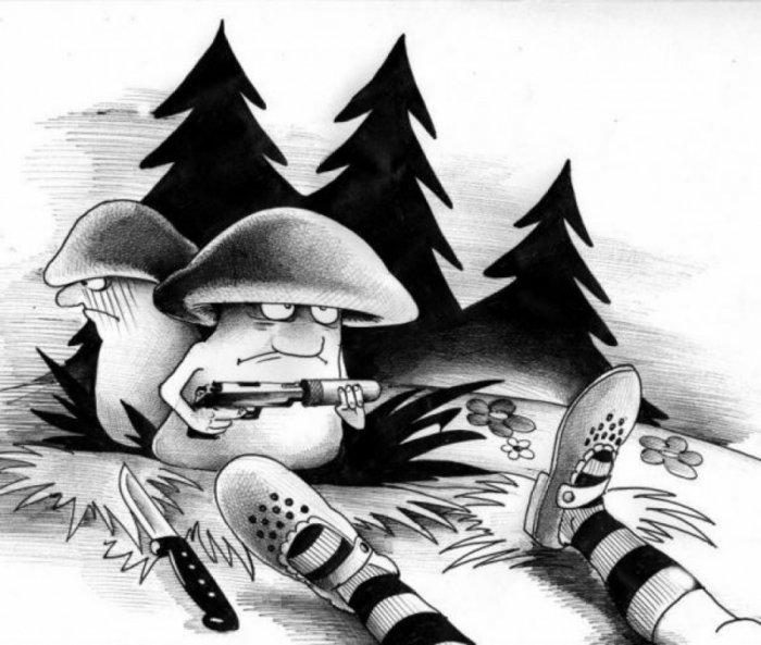 Карикатуры – жанр изобразительного искусства