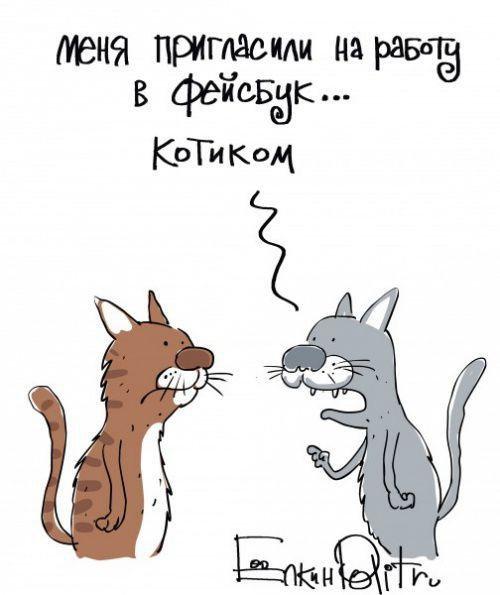 Злободневные карикатуры Сергея Ёлкина