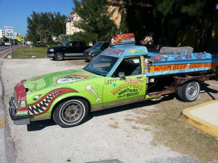 Самые необычные автомобили - сделай сам
