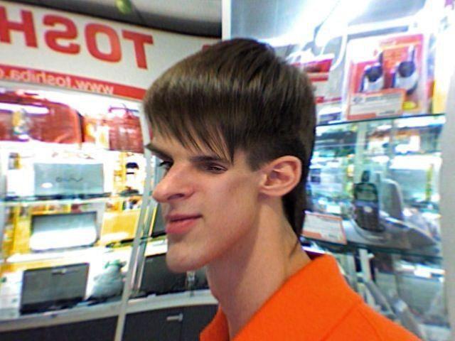 Кривое зеркало в супермаркете