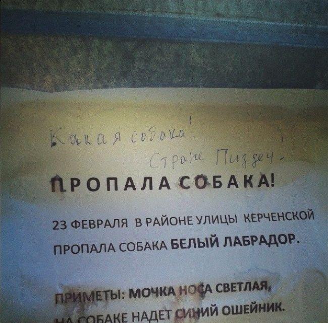 Смешные надписи - народный креатив