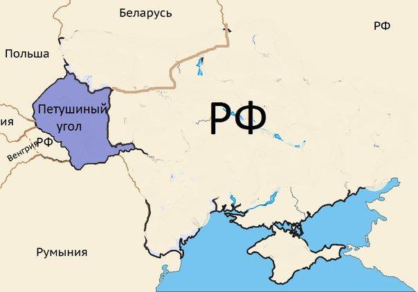 Без комментариев. Новая карта Украины