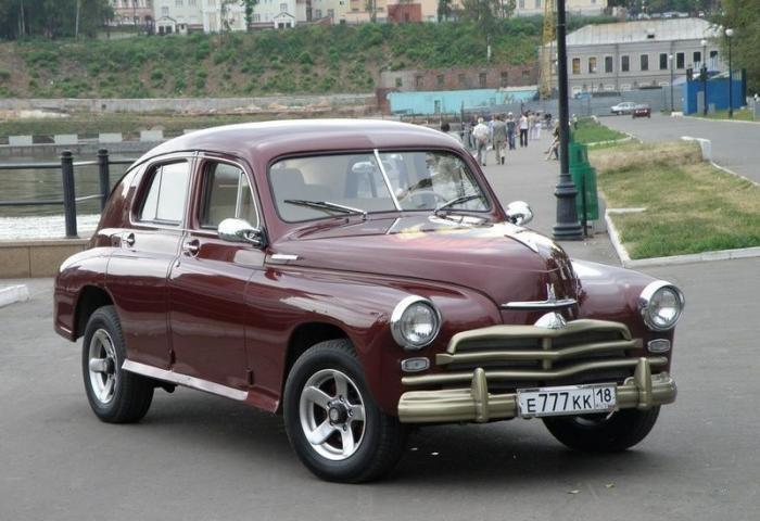 Современная ГАЗ Победа - красивые фото