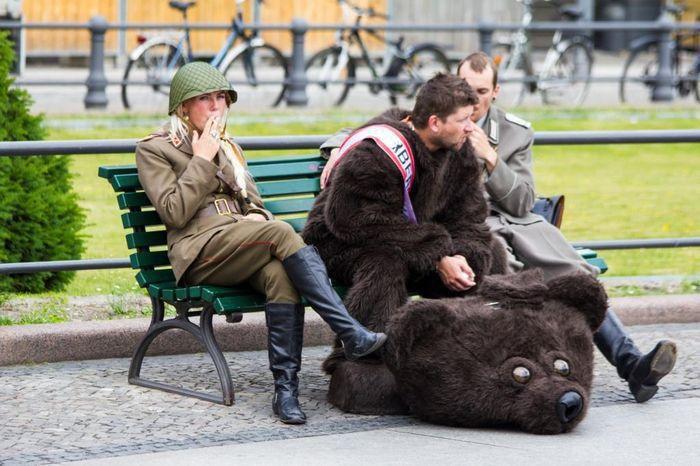Россия картинки прикольные, днем
