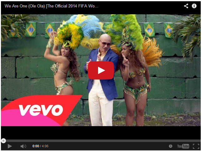 We Are One - The Official 2014 FIFA World Cup Song