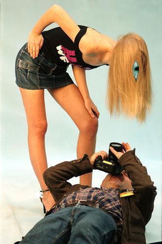 Фотограф и модель - прикольные фотожабы