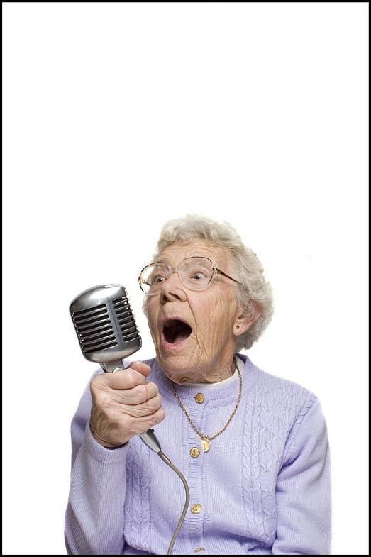 Бабка отжигает - весёлые фото