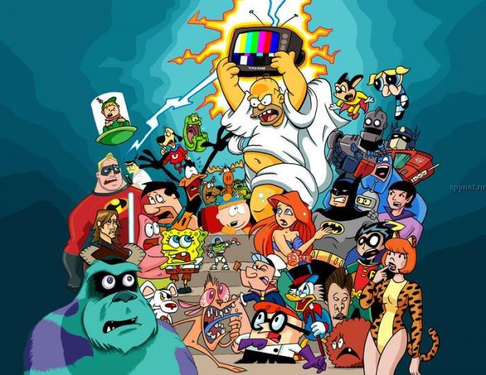 Герои фильмов в мульт-комиксах
