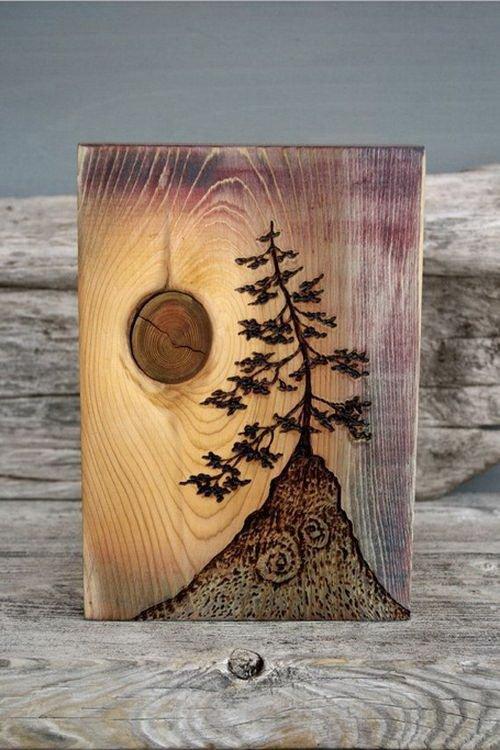 Оригинальные вещи из дерева