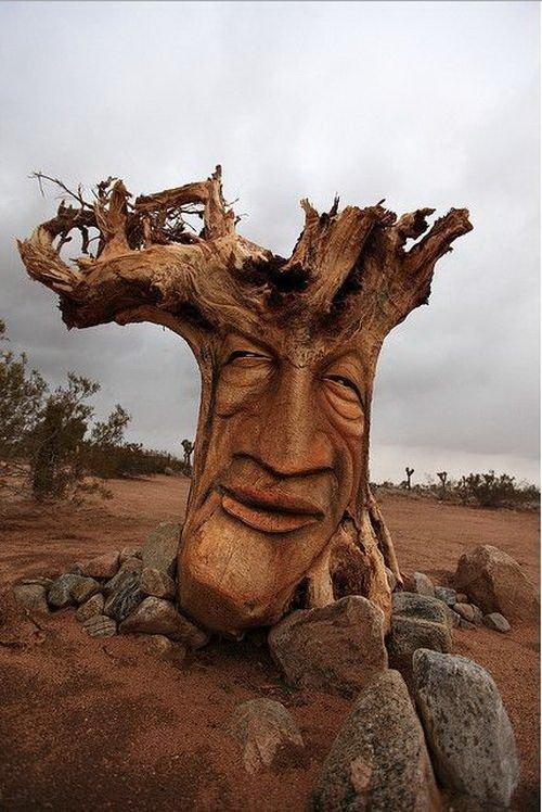 Оригинальные вещи из древесины